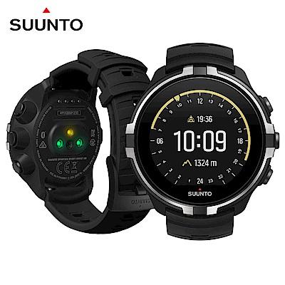 SUUNTO SpartanSportBaro彩色觸控戶外探險的腕式心率GPS腕錶-潛行黑