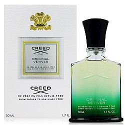 CREED ORIGINAL VETIVER 綠香岩蘭男性淡香精 50ml (法國進口)
