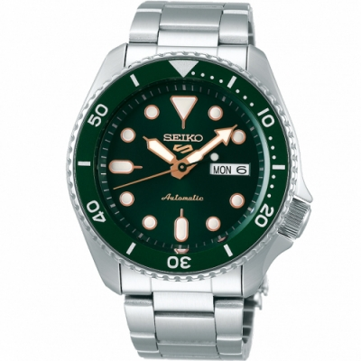 SEIKO 精工 5 Sports 機械腕錶(SRPD63K1)42mm