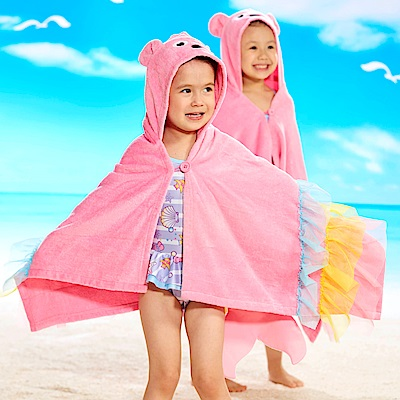 WHY AND 1/2 美人魚造型浴袍