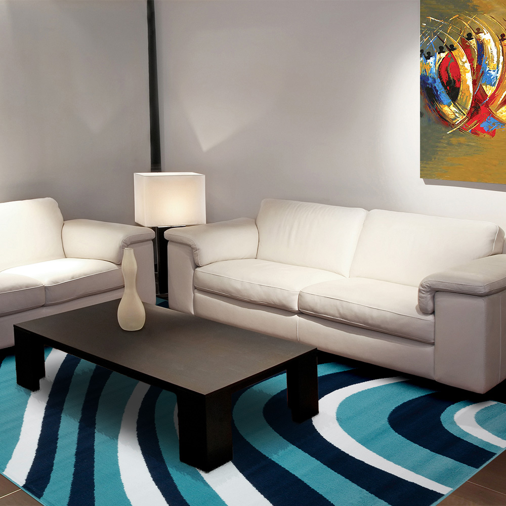 Ambience 比利時Shiraz 時尚地毯-曲線 160x230cm