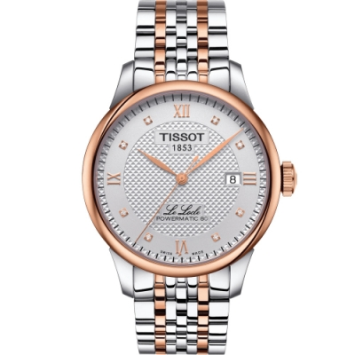 TISSOT Le Locle 力洛克經典機械男錶(T0064072203600)