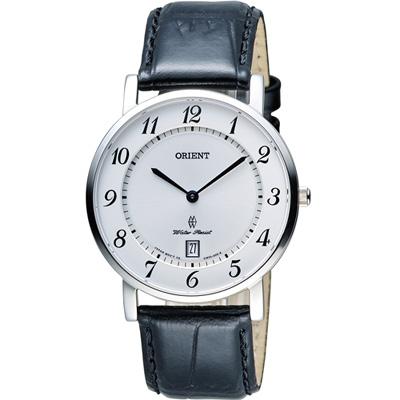 ORIENT 東方錶 SLIM系列 超薄簡約優雅時尚錶(FGW0100JW)