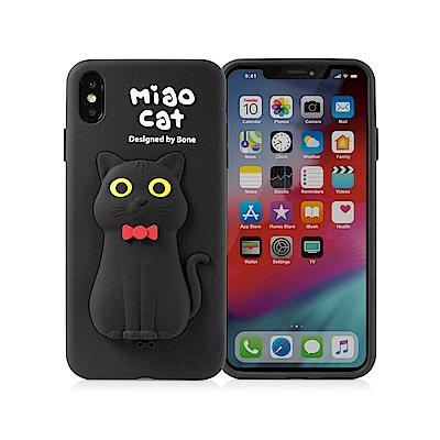 【BONE】IPhone XR 公仔保護套-喵喵貓