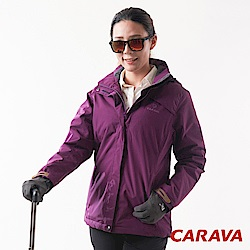 CARAVA 《女款極地禦寒外套》(深玫紫)