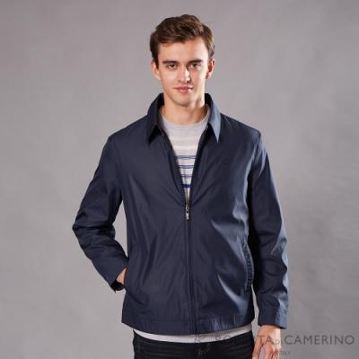 ROBERTA諾貝達 休閒時尚 保暖薄夾克外套 深藍