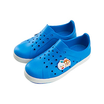 迪士尼童鞋 TsumTsum 米奇家族 防水休閒鞋-藍