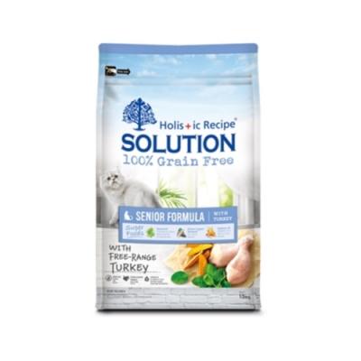 SOLUTION耐吉斯-無穀熟齡貓養生配方 16.5lbs(7.5kg)