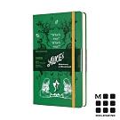 MOLESKINE 2020限定愛麗絲手帳日記12M(L型)-綠