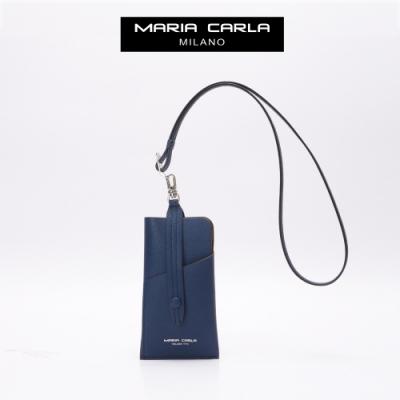 【Maria Carla】都會實用手機證件夾_海軍藍_都會極簡系列