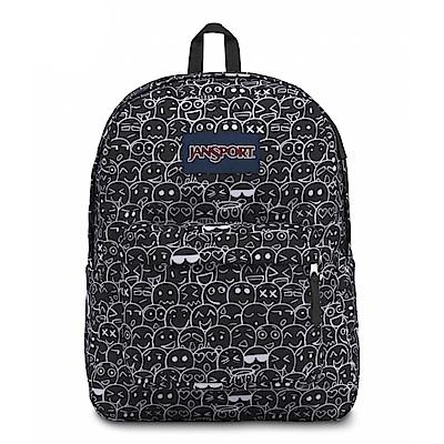 JanSport校園背包(SUPER BREAK)-表情符號