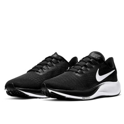 NIKE 慢跑鞋 女鞋 運動 休閒 路跑 健身 黑 BQ9647002 WMNS NIKE AIR ZOOM PEGASUS 37