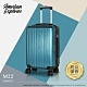 American Explorer 美國探險家 20吋 登機箱 行李箱 霧面髮絲紋 旅行箱 輕量 M22 (太平洋藍) product thumbnail 1