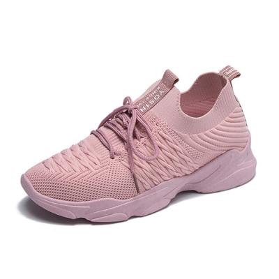 韓國KW美鞋館-極限運動輕量跑步鞋-粉紅色