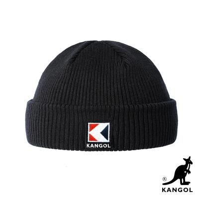 KANGOL-SERVICE-K 2WAY頭顱帽-黑色