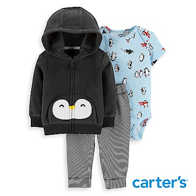 Carter's 企鵝造型3件組套裝