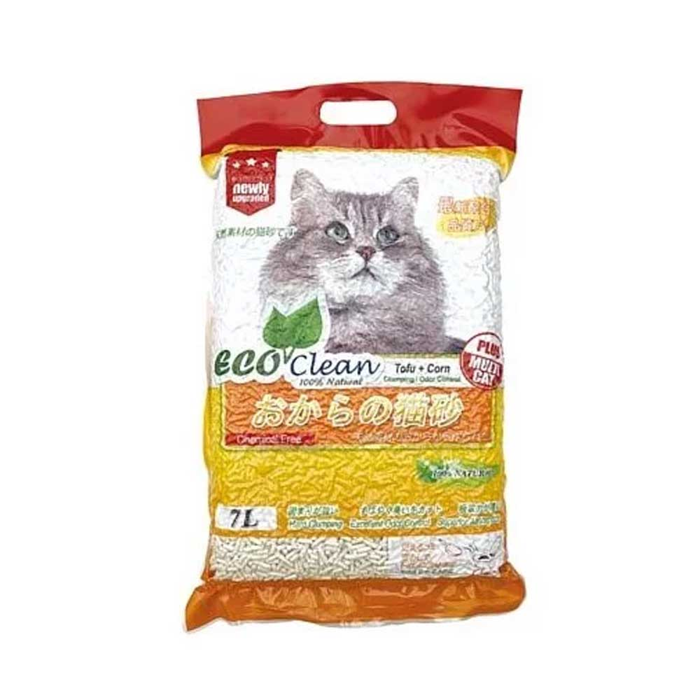 ECO艾可 豆腐玉米貓砂 7L-六包組