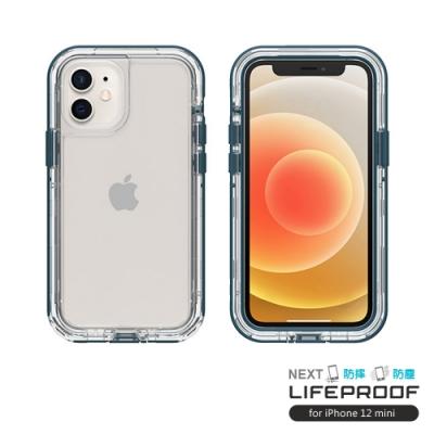 LIFEPROOF iPhone 12 mini (5.4吋)專用 2米軍規防摔防雪防塵三防保護殼-NEXT(透明/藍)