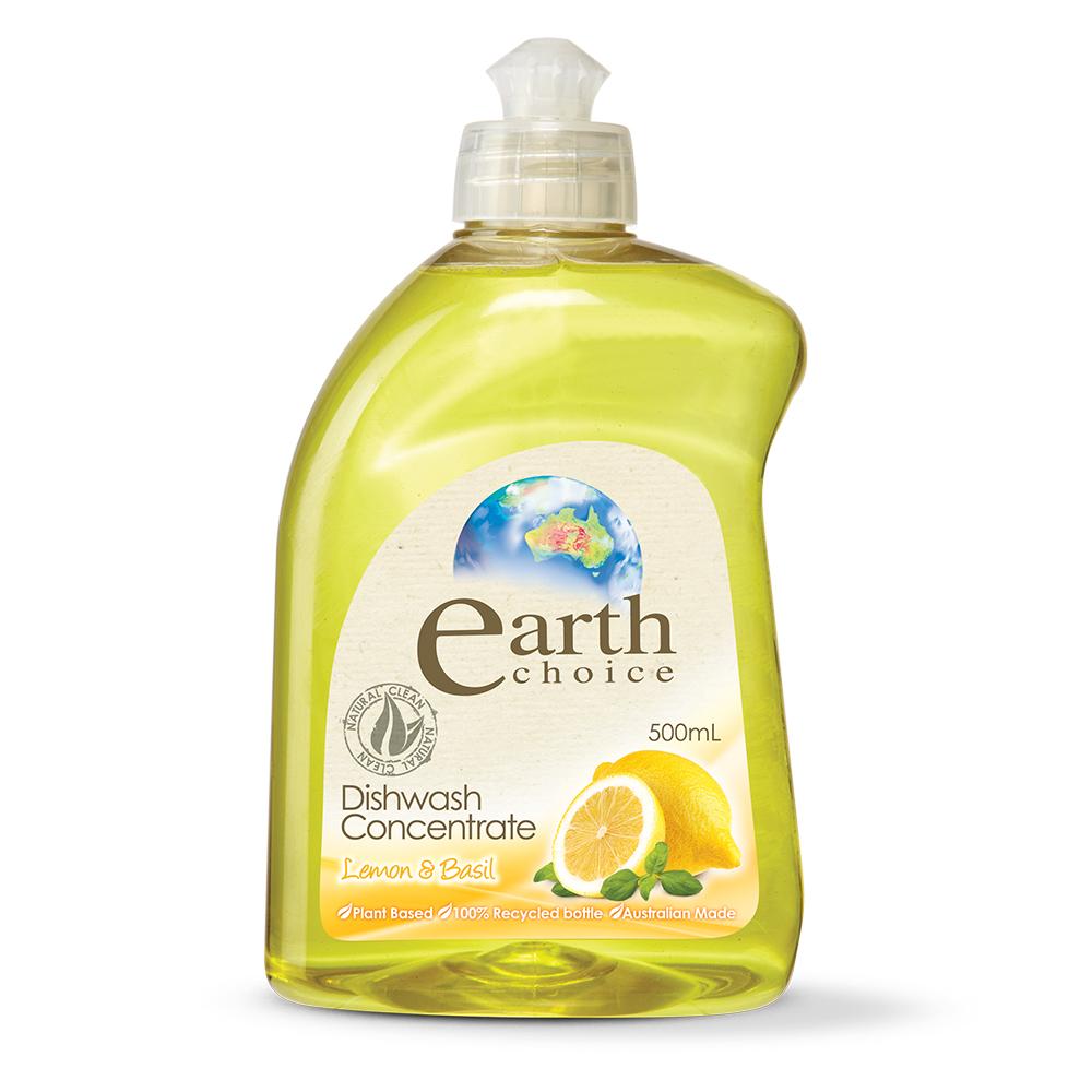 澳洲Natures Organics 植粹濃縮洗碗精(檸檬羅勒)500mlx4入