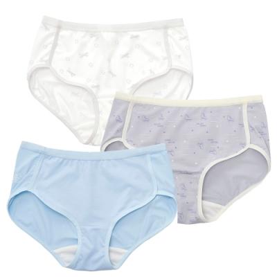 嬪婷 FTC系列 元氣的夢 M-2L低腰平口褲綜合包(三件組) 透氣包臀 少女內褲