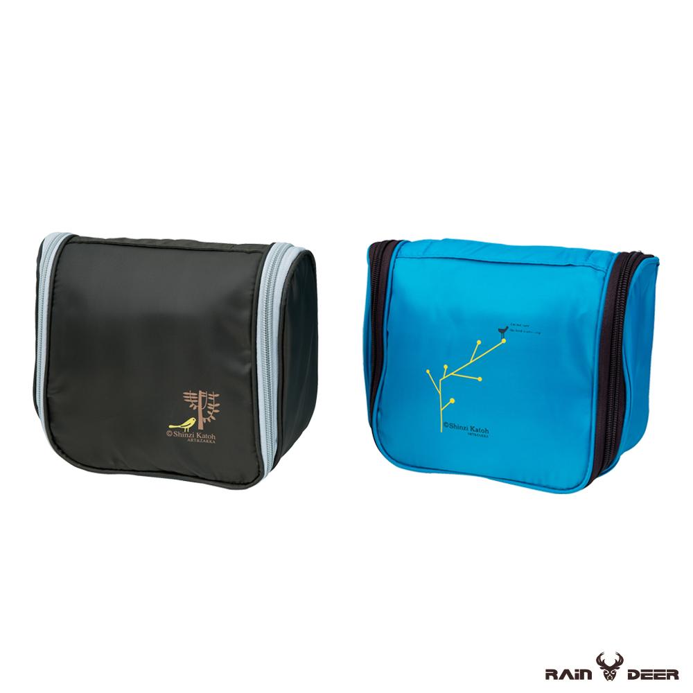 RAIN DEER 防水旅遊洗漱化妝包(顏色隨機)