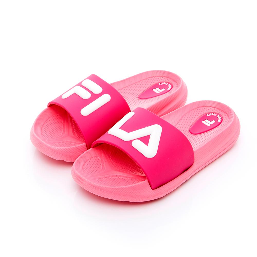 FILA KIDS 中童MD運動拖鞋-粉 2-S431T-521
