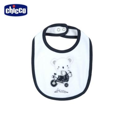 chicco-旅行無尾熊-繡圖圍兜
