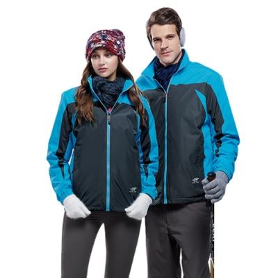 Londa Polo防水透氣女版雙面穿外套P91142水藍色