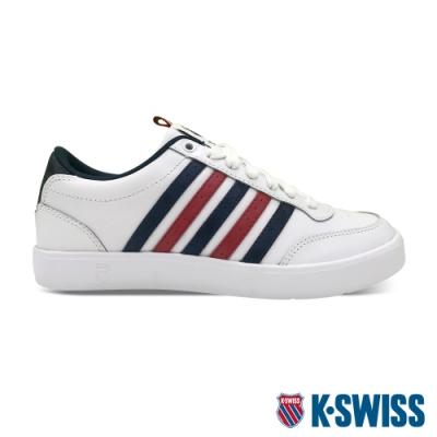 K-SWISS Court Lite CMF時尚運動鞋-女-白/藍/紅