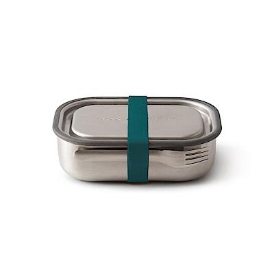 英國BLACK+BLUM不鏽鋼滿分便當盒(海水藍/附餐具)