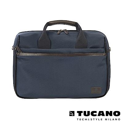 TUCANO EDGE 時尚側背手提二用包 15吋-藍