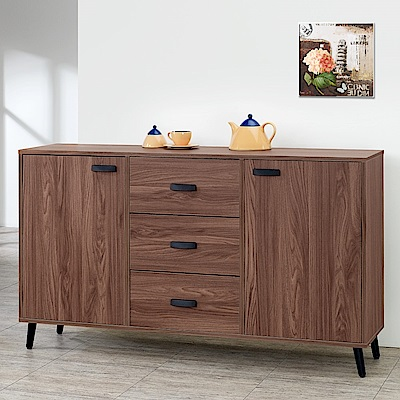 Homelike 達倫5尺收納餐櫃-151x41x78cm