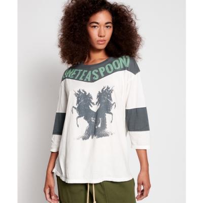 ONETEASPOON HORSE LS SPORTS TEE長袖T恤-女
