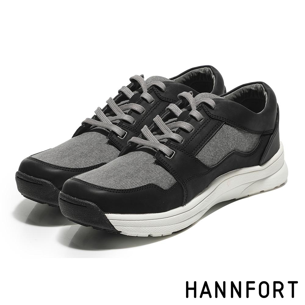 零碼出清 HANNFORT TORNADO 休閒鞋 男鞋 黑