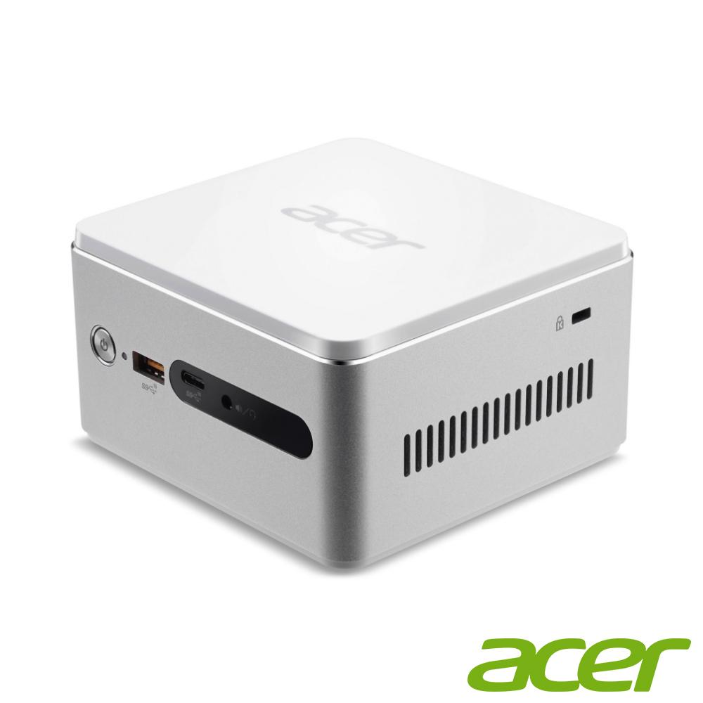 Acer Revo RN76 迷你桌機(i3-7130U/256G/4G/支援無線充電