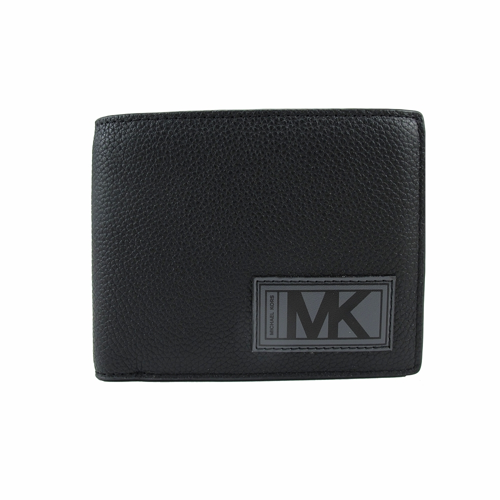 Michael Kors GIFTING禮盒-新皮標十卡短夾-含一可拆式ID夾(黑)