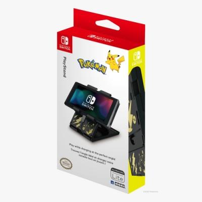 HORI Nintendo Switch 專用 寶可夢 皮卡丘 黑金配色 主機支架(NSW-294A)