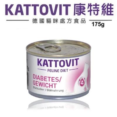 KATTOVIT 康特維 體重管理-照顧糖尿病 貓罐 (175g)*6罐組