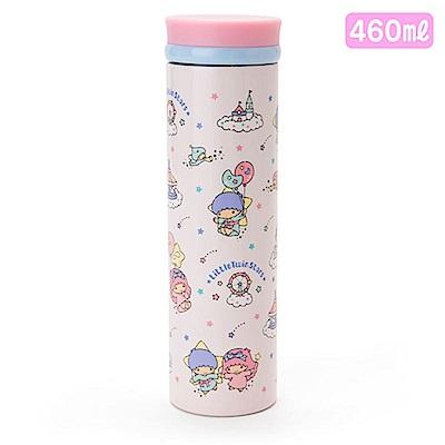Sanrio 雙星仙子保溫保冷不鏽鋼隨手瓶L-460ml(氣球遊樂園)