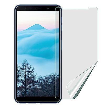 X mat Samsung Galaxy A7 2018 防眩光霧面耐磨保護貼-非滿版