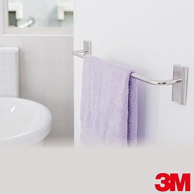 3M 無痕金屬防水收納系列-毛巾架