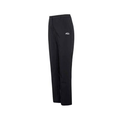FILA 女平織長褲-黑 5PNU-5112-BK