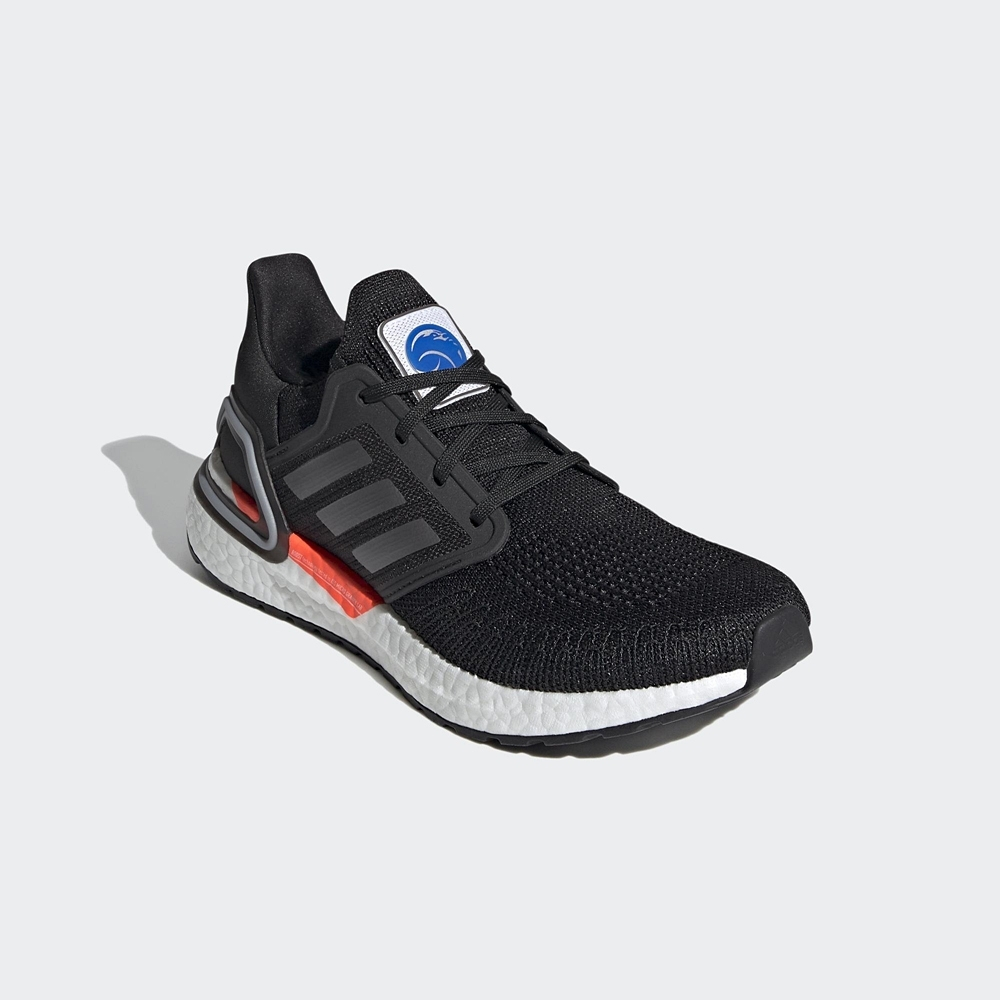 ADIDAS 慢跑鞋 運動鞋 緩震 訓練  女鞋 黑 SPACE RACE ULTRABOOST 20 FZ0174