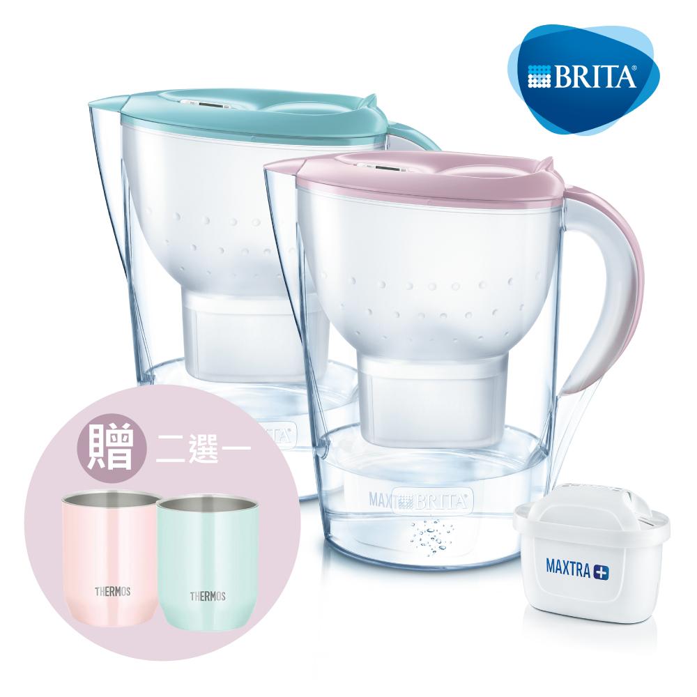 [新品上市買就送膳魔師保溫杯] 德國BRITA Marella 3.5L馬利拉濾水壺(內含1入濾芯)