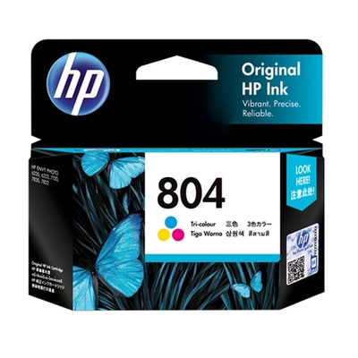 HP T6N09AA 原廠彩色高容量墨水匣 NO:804