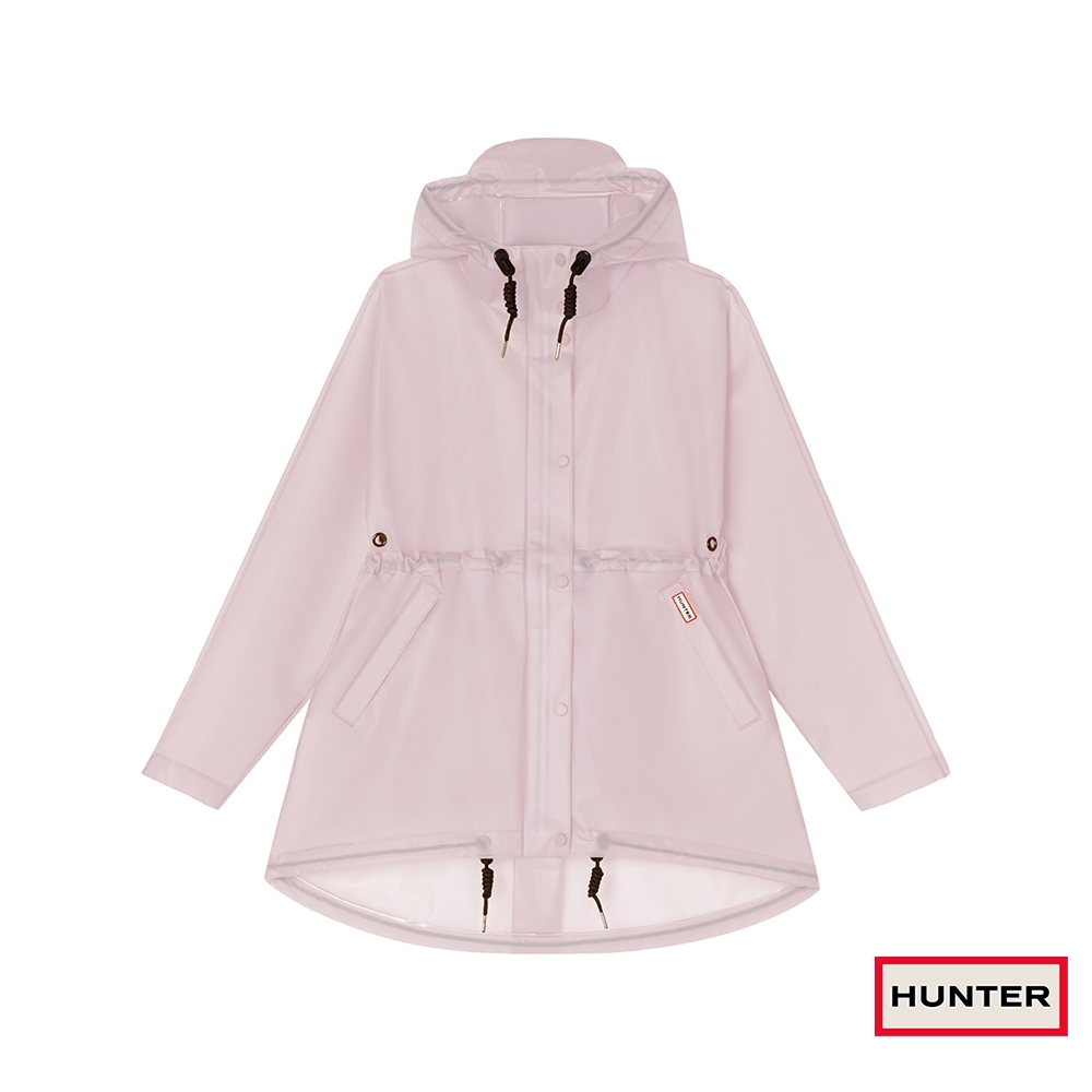 HUNTER - 女裝 - PU縮腰連帽外套 - 粉紫
