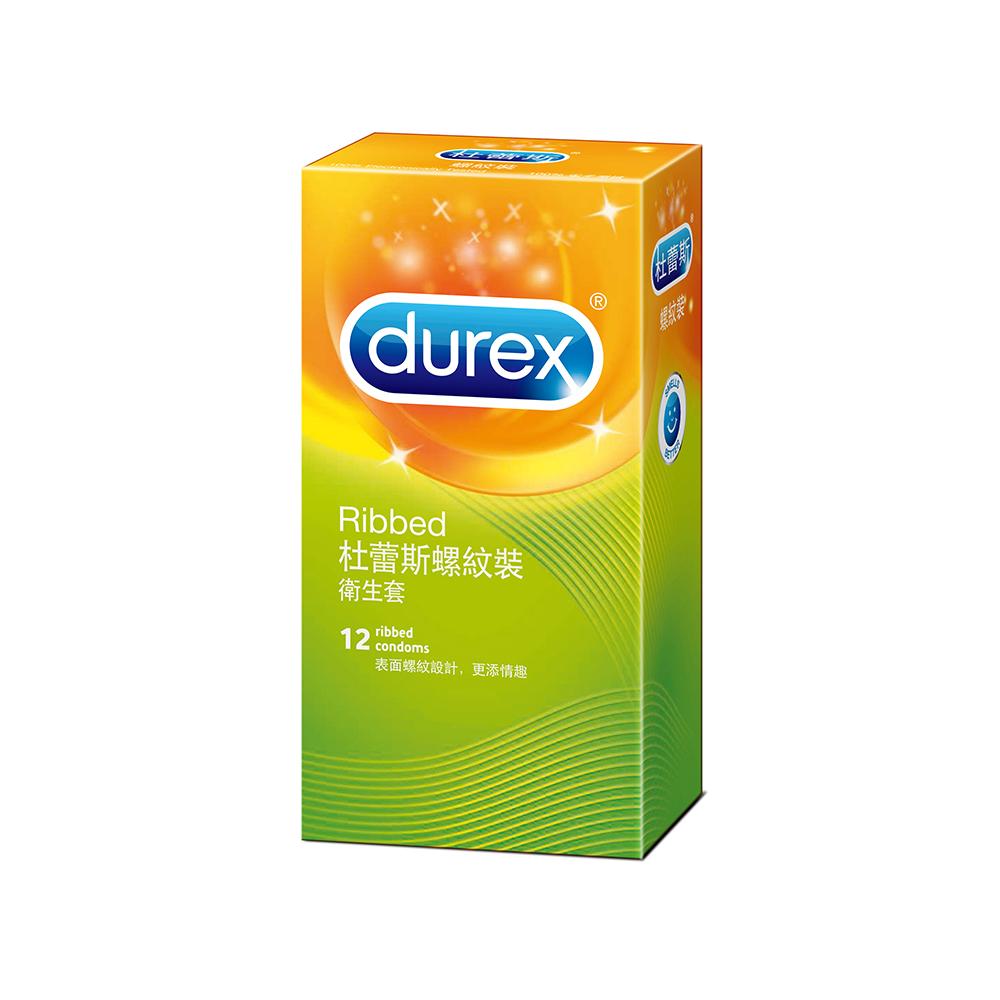 Durex 杜蕾斯-螺紋裝保險套(12入)
