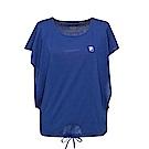 FILA 女短袖圓領T恤-藍紫 5TET-1321-DB