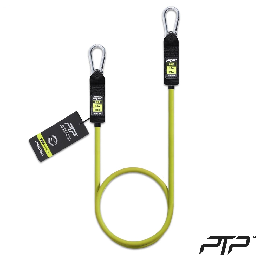 PTP 阻力訓練 彈力繩 L2 (5.5公斤) PowerTube Elite Light, OS