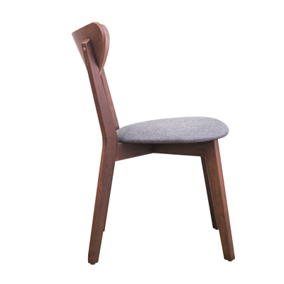Bernice-莫司實木餐椅/單椅-44x55x80cm